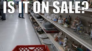 Thrift Store Shopping for Resale on eBay - Shop the PRICE