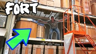 LEGENDARY FORT IN THE RAFTERS!