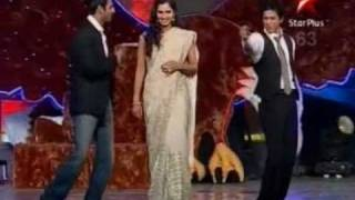 sania mirza performing in Sahara INDIA Sports Awards