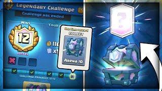 12 WIN 'LEGENDARY CHALLENGE' DECK - Clash Royale