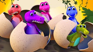 Cinco Cocodrilos Fueron a Nadar y más Canciones Infantiles en 3D   A Bebés Contentos