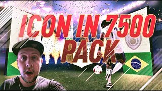 ICON IN A 7500 PACK   FIFA 18 GERMAN