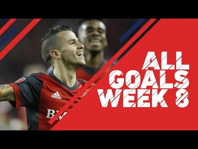 All Goals from Week 8 of the 2017 MLS Season