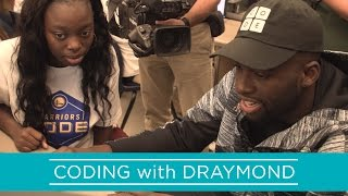 Hour of Code with Draymond Green