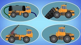 Transformer | Drill Machine | Water Tank | Crane | Videos For Children | Cars Cartoon | Kids Video
