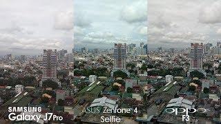 ASUS Zenfone 4 Selfie vs OPPO F3, Samsung Galaxy J7 Pro Triple Comparison + Review
