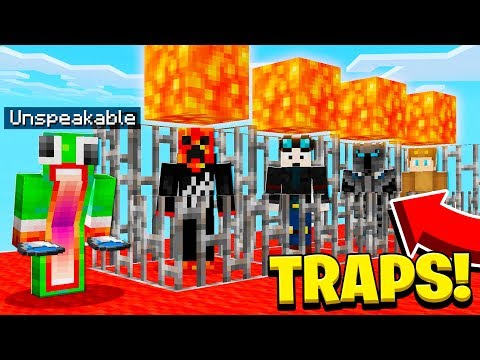 SAVING FAMOUS YOUTUBERS FROM TRAPS