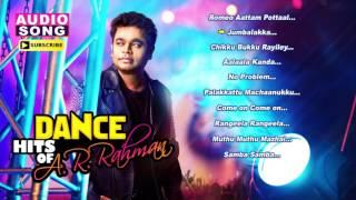 AR Rahman Tamil Hits | Audio Jukebox | AR Rahman Dance Hits | Tamil Movie Songs | Music Master