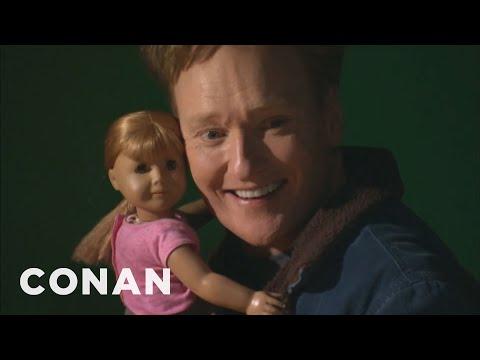 Conan Visits The American Girl Store