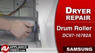 Samsung Dryer - Drum Roller issues - Diagnostic & Repair