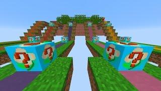 CRAZY WEAPONS! - Minecraft FLOWER LUCKY BLOCK RACE