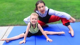 Miranda Sings Gymnastics Lesson! w/ Parker