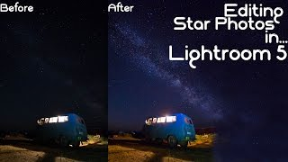 How to Edit Star Photos with Lightroom 5: Star Photography in Mongolia