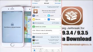 Jailbreak - Cydia Install on iOS 9.3.4 and IOS 9.3.5