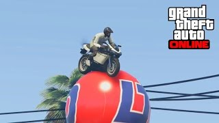 GTA 5 - TOP 10 GOD STUNTS ! IMPOSSIBLE PRECISION