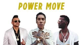 Konshens ft Vybz Kartel & Sean Paul - Power Move (Official Audio) - November 2016