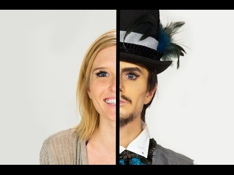 Women Transform Into Drag Kings