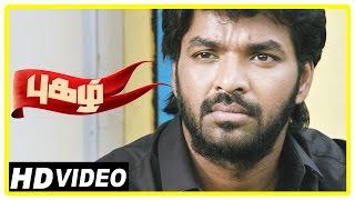 Pugazh Tamil Movie   Scenes   Jai Argues with Vikram   RJ Balaji   Minister warns  Marimuthu  