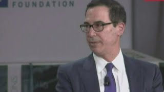 Mnuchin: Plane request was about national security, not p...