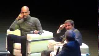 Pep Guardiola en el Luna Park Con Martino hablan del Mundial