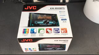 JVC KW-R920BTS Bluetooth Double Din Radio Unboxing