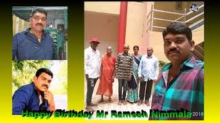 Happy Birthday Mr Ramesh Nimmala