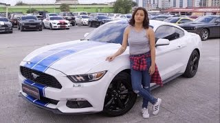 Frontrow Car Club - Queen Mousa (2015 Ford Mustang)