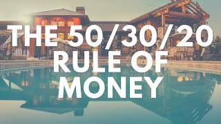 The 50/30/20 Rule of Money