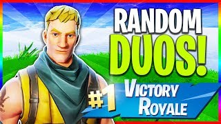 🔴 Trolling Random Duos! (Fortnite: Season 5 LIVE Gameplay)