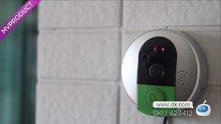 Dx : VSTARCAM 720P HD Wi-Fi Remote Doorbell Doorcam w/ IP Camera / Support 64G TF Card (US Plug)