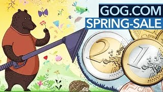 30 Euro für den Spring Sale bei GOG - 7 Spiele-Kaufempfehlungen