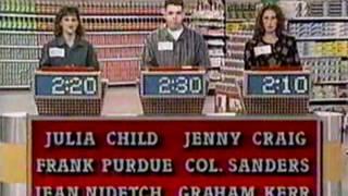 Supermarket Sweep - Debbie & Robin vs. Sean & Michelle vs. Stacy & Dana (1993)
