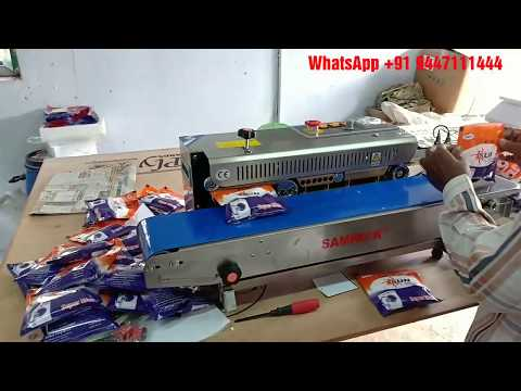 Washing powder Packing machine stainless steel for small business