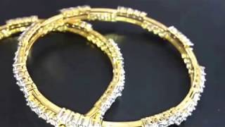 indian style  Patti chudi Diamond Bangle design