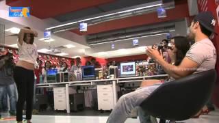 Varun Dhawan & Shraddha Kapoor At Radio Mirchi FM - ABCD 2 Promotions