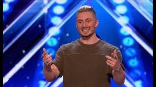 Tom London [Legendado] - Got Talent | Mágico usa tecnologia em seus truques.