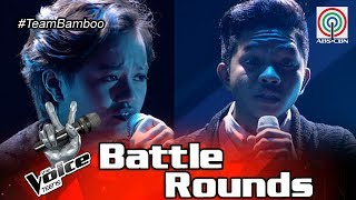 The Voice Teens Philippines Battle Round: Andrea vs. Emarjhun - Hallelujah