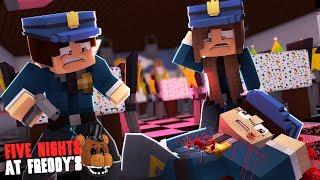 Minecraft: FIVE NIGHTS AT FREDDY'S #91 - VIGIA MORTO DE MENTIRA??!!