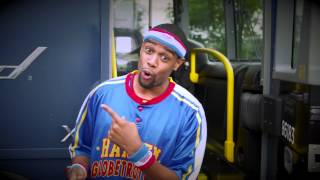 Globetrotters Board the Bus for Maine