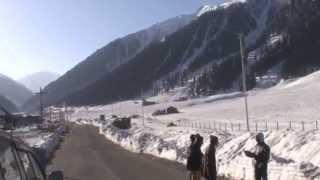 Sonmarg Kashmir in April 2015 Beautiful Morning Scene