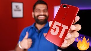 Oneplus 5T Lava Red Unboxing and Giveaway 🔥🔥🔥 Valentine