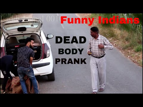 Latest funny video | Dead body Prank | Funny indian video | Pyscho prank | Sonu | Mumbai | gol gol