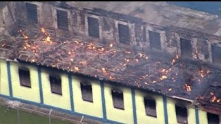 Violence erupts in Brazil prisons as crime gangs clash