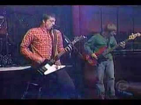 Foo Fighters - The one , live at letterman