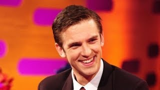 Downton Abbey's DAN STEVENS's Hysterical Twitter Fans: The Graham Norton Show June 13 BBC AMERICA
