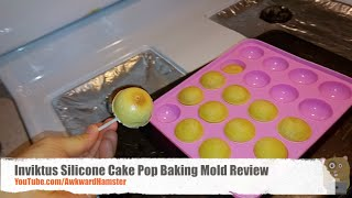 Inviktus Silicone Cake Pop Baking Mold Review