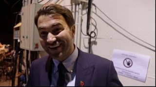 EDDIE HEARN ON MATCHROOM MONTE CARLO DEBUT IN FULL, EUBANK JR TWEETS, WHYTE v CHISORA GLOVES ARE OFF