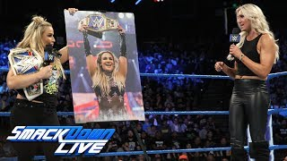 Natalya crashes Charlotte's thank you to the WWE Universe: SmackDown LIVE, Sept. 19, 2017