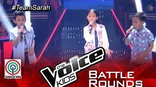 "The Voice Kids Philippines 2015 Battle Performance: ""Tuwing Umuulan"" by Gian vs Krystle vs Rock"
