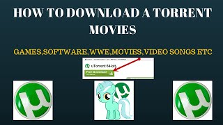 How to download a torrent movies simple and easy step by step video guide  in (HINDI)